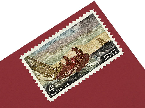 4¢ Winslow Homer - 25 Stamps