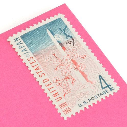 4¢ Washington DC - U.S. Japan Treaty - 25 Stamps