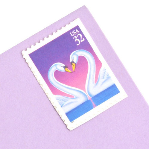32¢ Swan Love - 20 Stamps