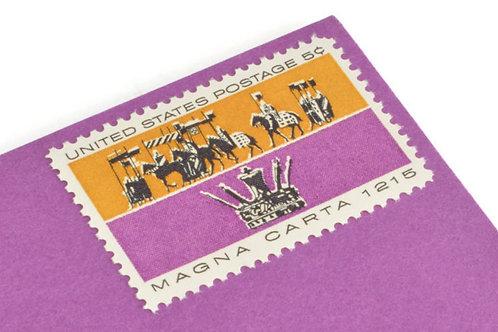 5¢ Magna Carta - 25 Stamps