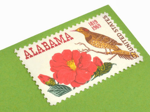 6¢ Alabama Statehood - 25 Stamps