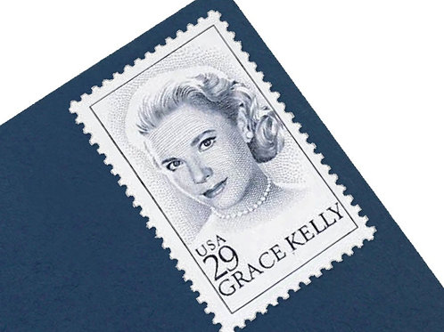 29¢ Grace Kelly - 25 Stamps