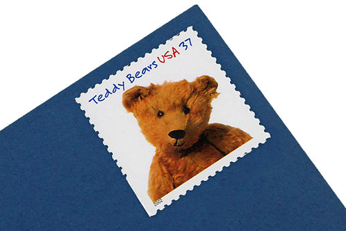 37¢ Teddy Bear - 20 Stamps