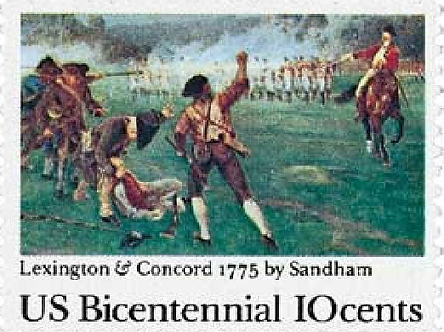 20 Lexington-Concord Battle Postage Stamps - 10c - 2006 - Unused