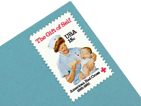 18¢ American Red Cross - 25 Stamps