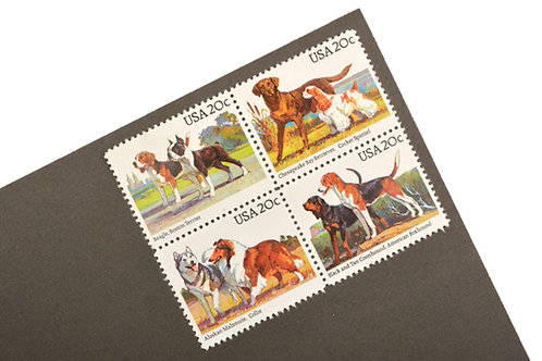20¢ Dogs - 25 Stamps