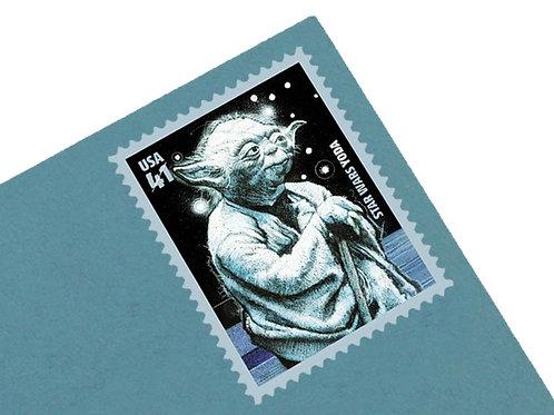 41¢ Yoda Star Wars - 20 Stamps