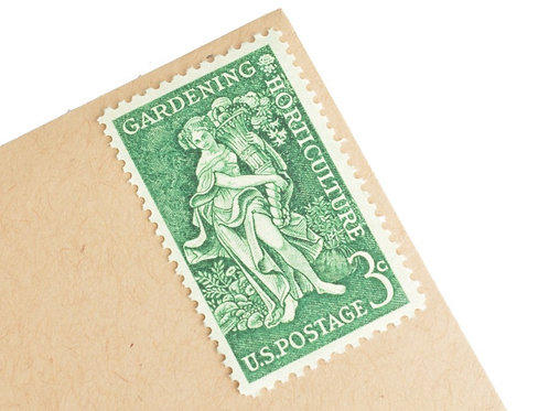 3¢ Gardening Horticulture - 25 Stamps