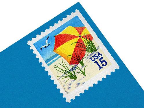15¢ Beach Umbrella - 20 Stamps