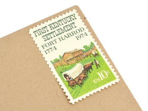 10¢ Kentucky - 25 Stamps