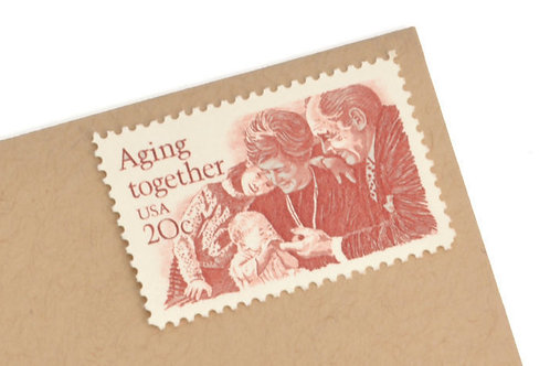 20¢ Aging Together - 25 Stamps