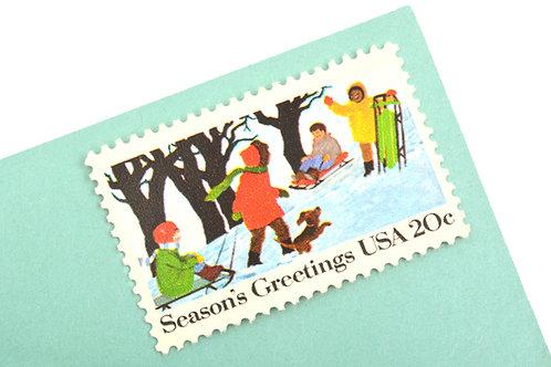 20¢ Season's Greetings - 25 Stamps