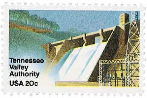 Pack of 25 Unused Tennessee Valley Authority - TVA - 20c - 1983 - Unused Vintage