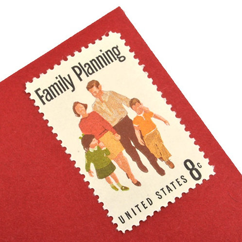 8¢ Family Planning - 25 Stamps