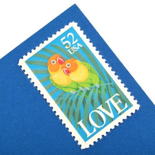 52¢ Fischer's Lovebirds - 25 Stamps