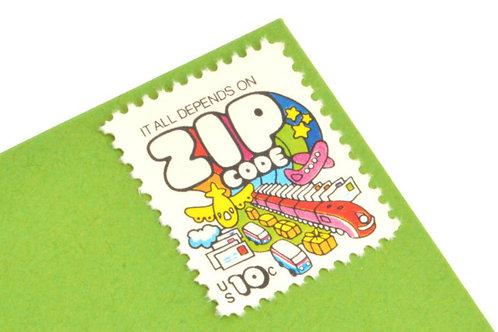 10¢ Zip Code - 25 Stamps