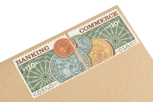 10¢ Banking & Commerce  - 24 Stamps