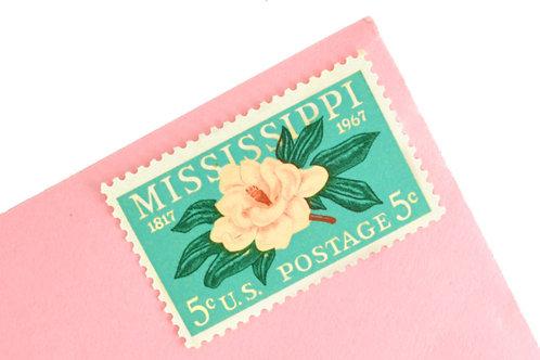 5¢ Mississippi Statehood - 25 Stamps
