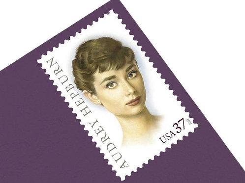 37¢ Audrey Hepburn - 20 Stamps