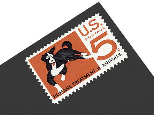 5¢ Dog - 25 Stamps