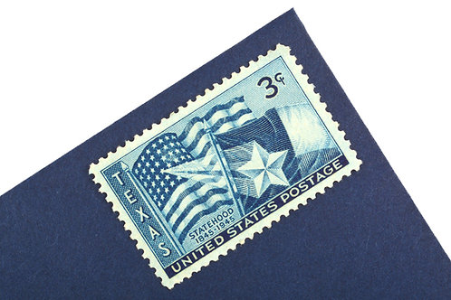 3¢ Texas Statehood - 25 Stamps