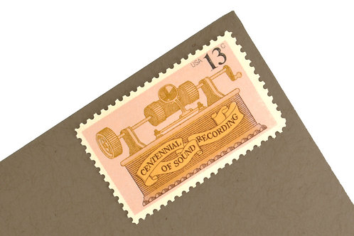 13¢ Pink & Gold Sound Recording - 25 Stamps