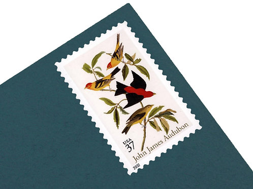 37¢ John James Audubon - 20 Stamps