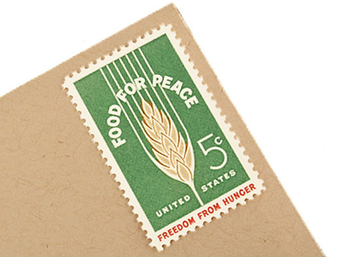 5¢ Food for Peace - 25 Stamps