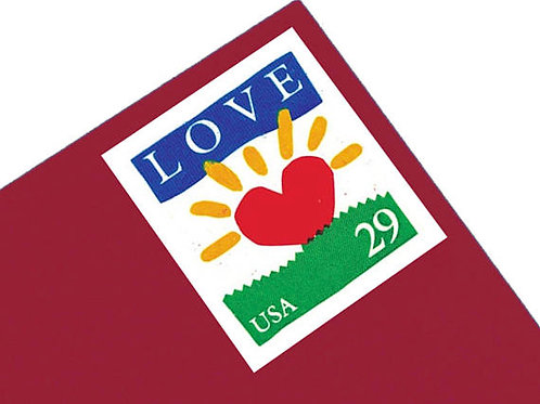 Pack of 18 Unused Sunrise Love Stamps - 29c - 1994 - Unused Vintage Postage