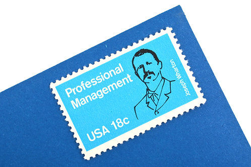 18¢ Professional Management - 25 Stamps
