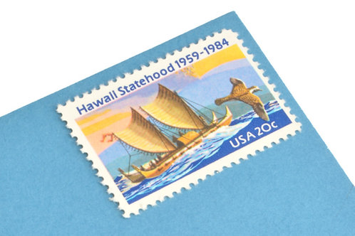 20¢ Hawaii Statehood - 25 Stamps