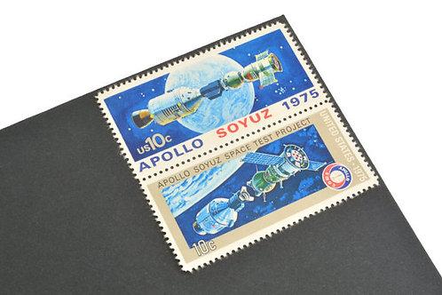 Pack of 24 Unused Apollo Soyuz Stamps - 10c - 1975 - Unused Vintage Postage