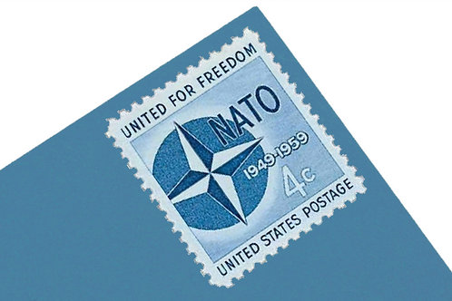 4¢ NATO - 25 Stamps