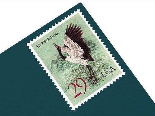 29¢ Cranes - 20 Stamps