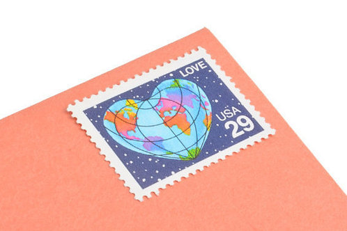 29¢ Love Heart Earth - 25 Stamps