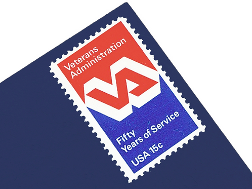 15¢ Veterans Administration - 25 Stamps