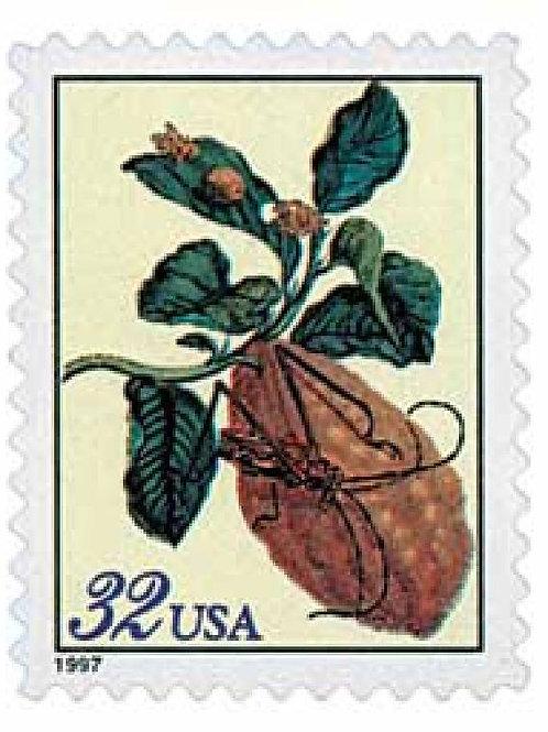 Pack of 20 Unused Merian Botanicals - 32c - 1997 - Unused Vintage Postage