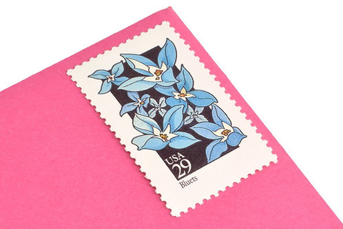 29¢ State Wildflowers - 25 Stamps