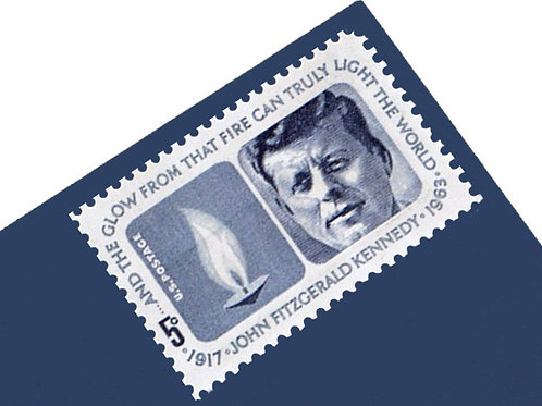 5¢ John F. Kennedy Stamps - 25 Stamps