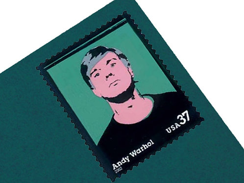 37¢ Andy Warhol- 20 Stamps