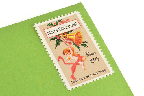 10¢ Christmas Card - 25 Stamps