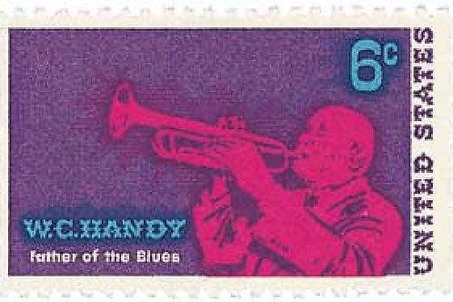 Pack of 25 Unused W. C. Handy Stamps - 6c - 1969 - Unused Vintage Postage