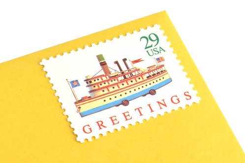 29¢ Christmas Antique Toys - 25 Stamps