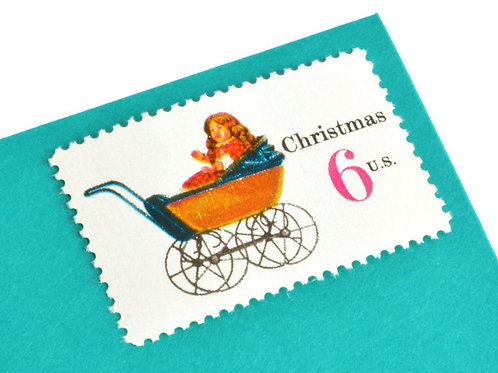 6¢ Christmas Toys - 25 Stamps