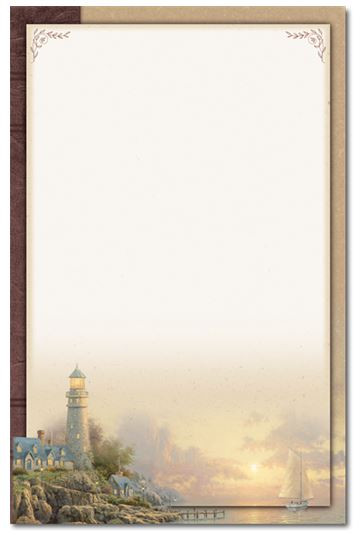 Sea of Tranquility Memorial Folder - Personalized*