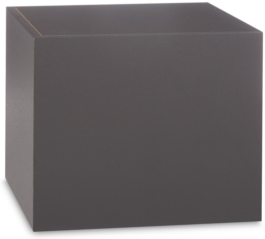 Basic Wood Urn Gray Vinyl Cover *