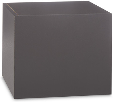 Basic Wood Urn Gray Vinyl Cover *