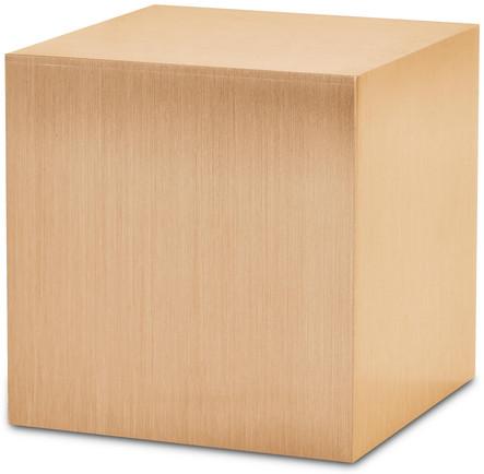Sheet Bronze Cube