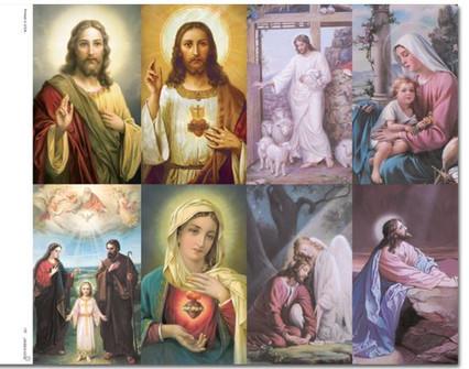 Prayer Cards Contemporary Art