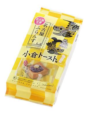 名古屋ふらんす(小倉トースト味)パッケージ